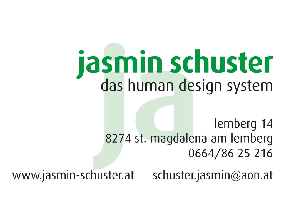 JAsmin Schuster, Human Design Analytikerin, Lehrerin, Pädagogin